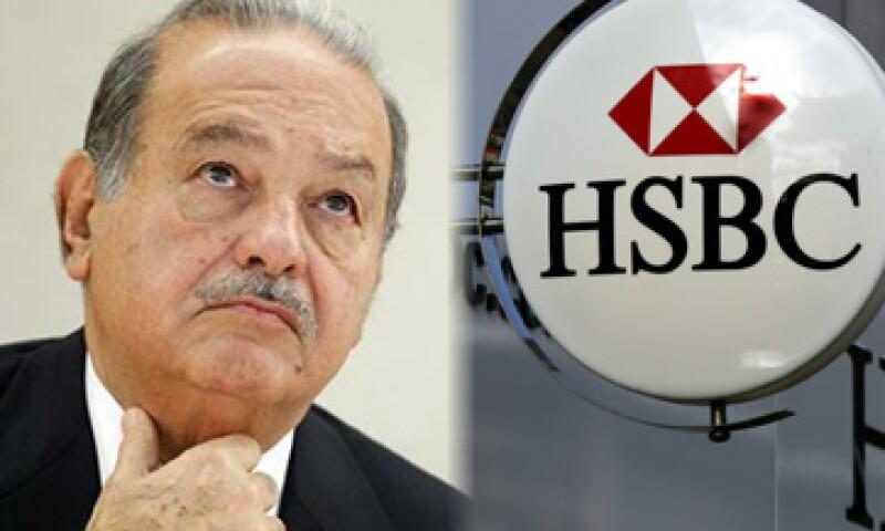 Slim y HSBC fueron los tópicos más leídos por los lectores este martes. (Foto: Especial)