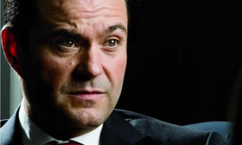 Carlos Fernández, CEO de Grupo Modelo. (Foto: Alfredo Pelcastre / Mondaphoto)