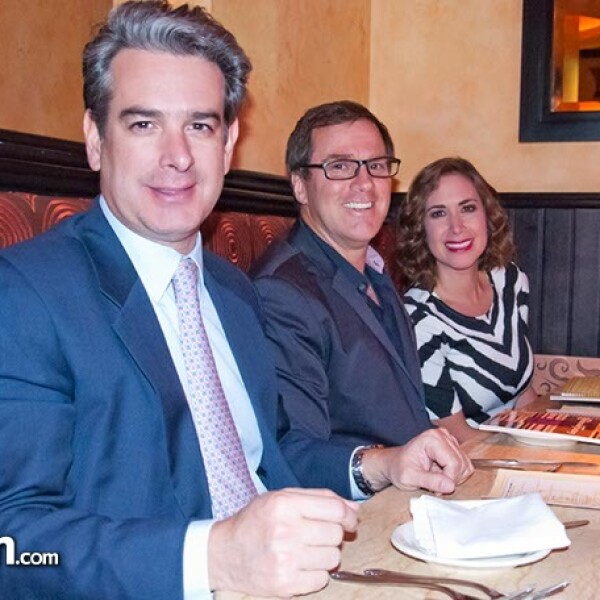 Jorge Mora, Andrés Franco y Marta Guzmán