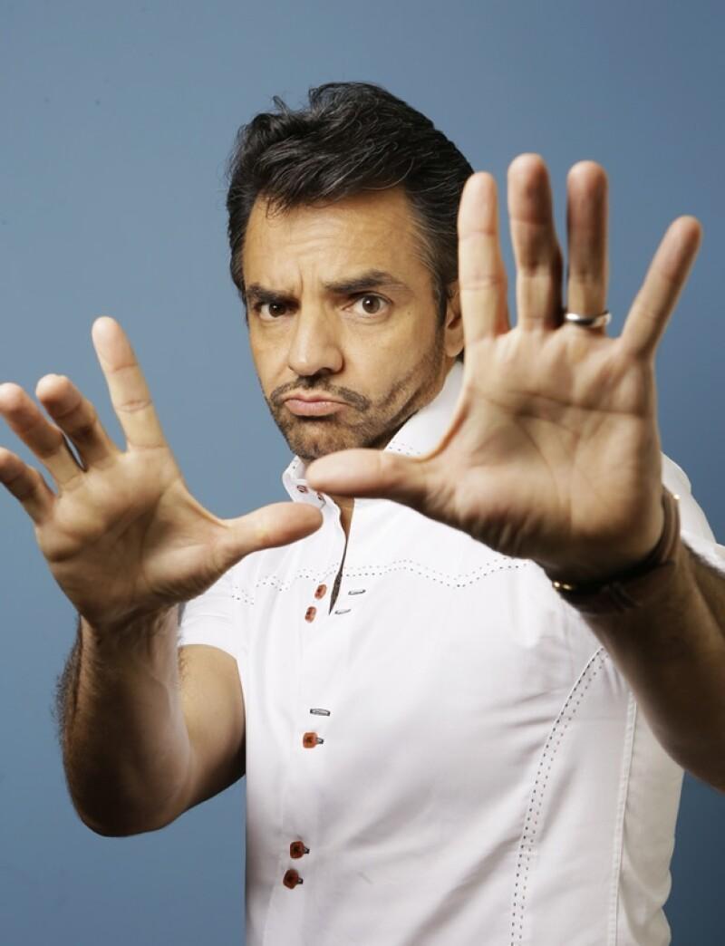Eugenio Derbez es coguionista de la cinta, además de protagonista y director.