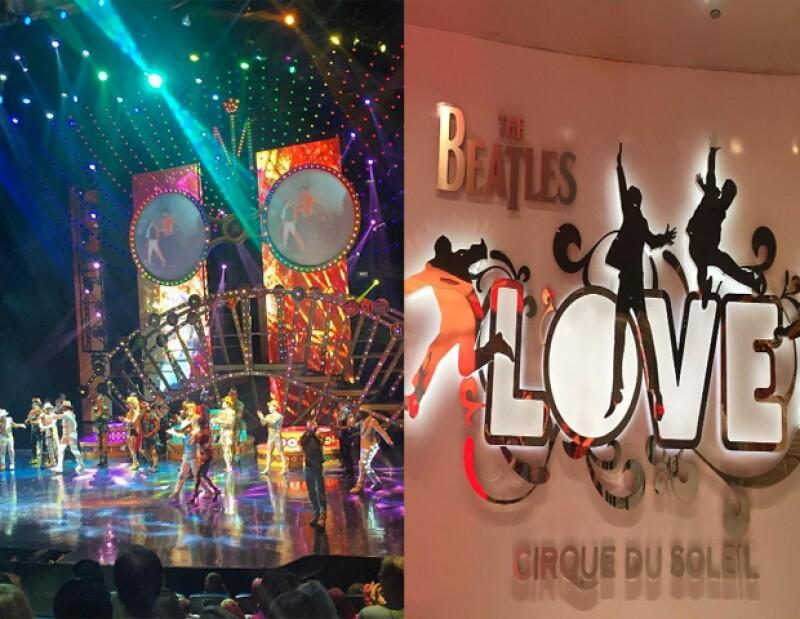 Estos son dos de los shows de la cartelera de Las Vegas,que no te puedes perder