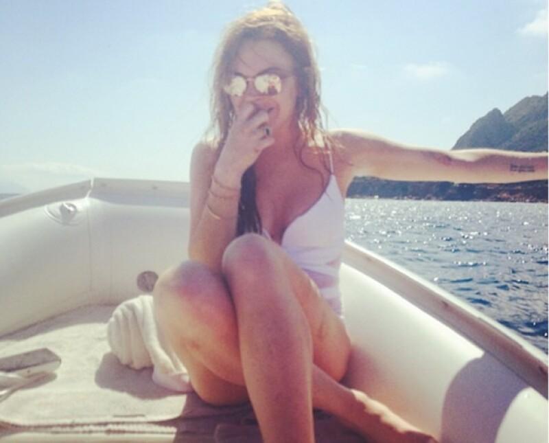 Divertida, alegre y segura de ella misma: la Lindsay que vemos día a día en su cuenta de Instagram. Si aún no la sigues, aquí las razones por las que lo debes de empezar a hacer.