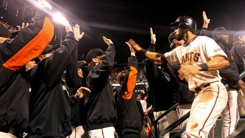 San Francisco Gigantes segundo juego serie mundial 2012 vs Detroit Tigres