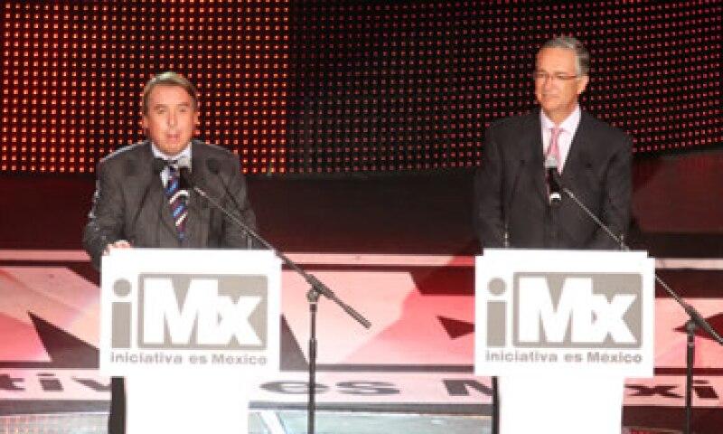 Emilio Azcárraga Jean y Ricardo Salinas Pliego anunciaron su proyecto en abril del año pasado. (Foto: Especial)