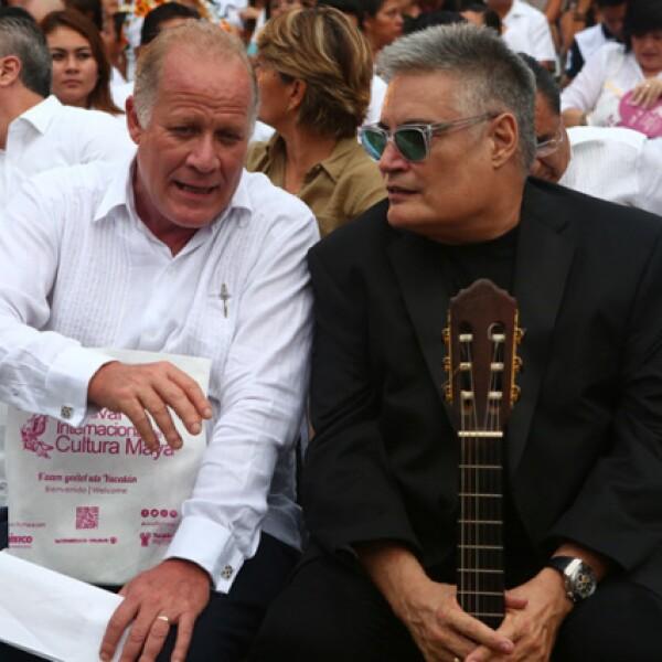 Fernando Rojas y Amauri Pérez