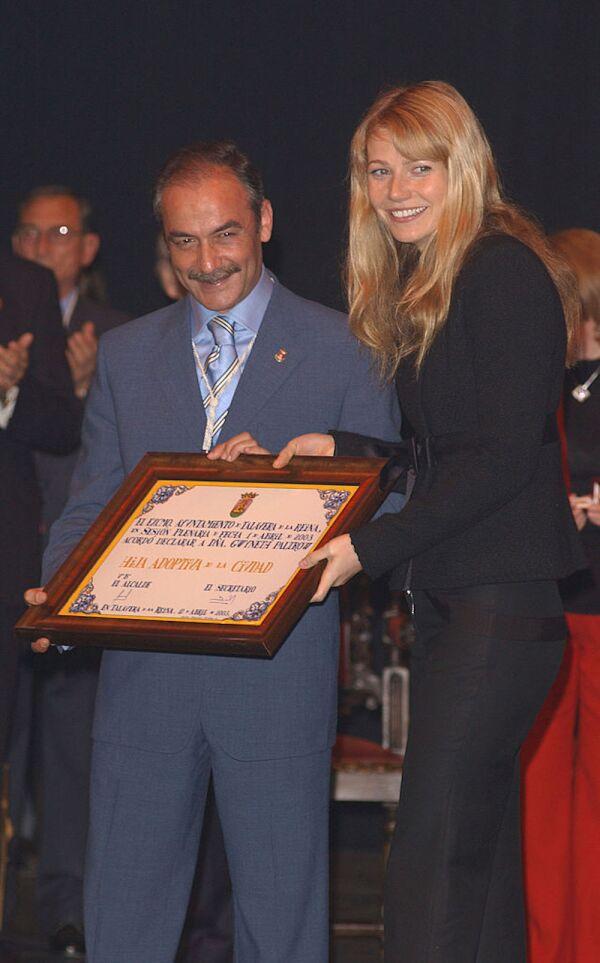 Gwyneth Paltrow Receives Key To Talavera de la Reina