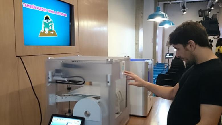 Instalaciones de cafeter�a 3D Lab