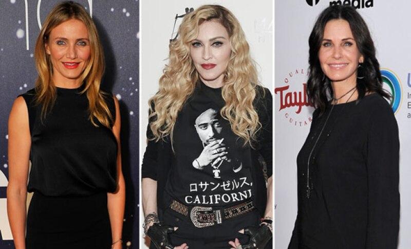 En el pasado Cameron trabajó con celebs como Madonna, Cameron Díaz, y Courteney Cox.