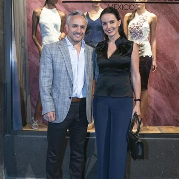Nicolas Vale y Alejandra Barros