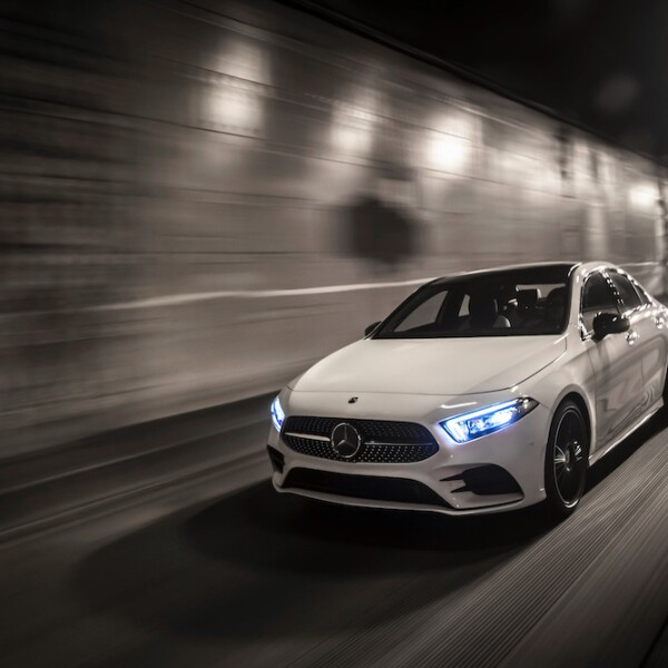 Die neue Mercedes-Benz A-Klasse Limousine. Seattle 2018  The all-new Mercedes-Benz A-Class Sedan. Seattle 2018