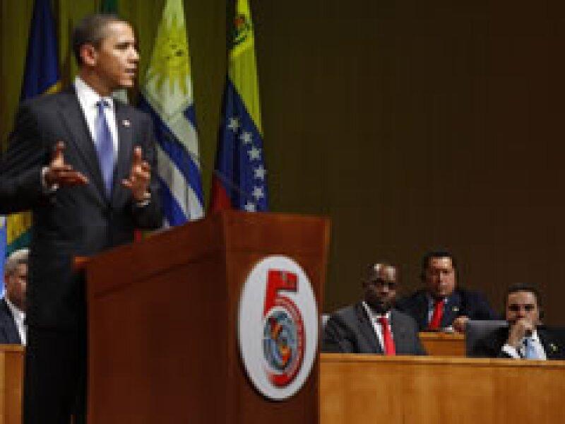 El president Barack Obama en la apertura de la Cumbre de las América. (Foto: Reuters)