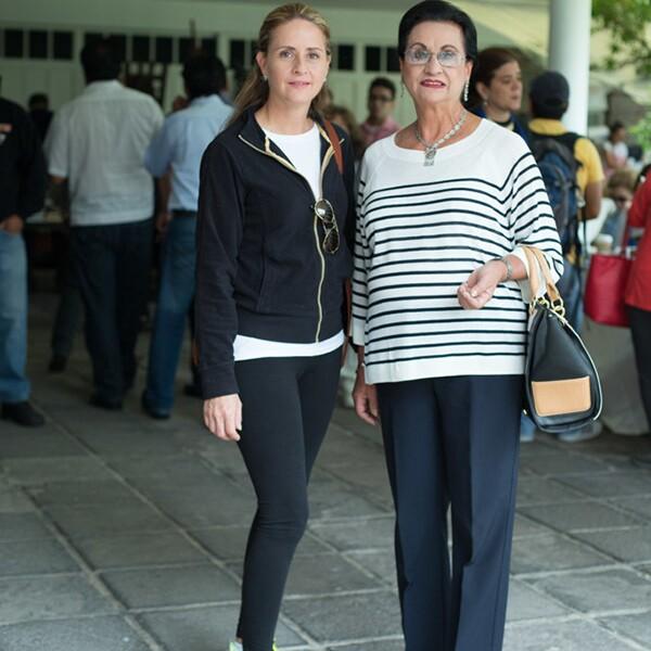 Karen Van Heffen y Carmen Poulat