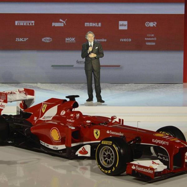 El líder de Ferrari, Luca Cordero di Montezemolo, dijo es sólo el primer paso de un vehículo que ya podría verse distinto en Australia