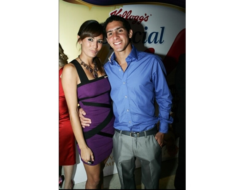 Paola Espinosa y Rommel Pacheco