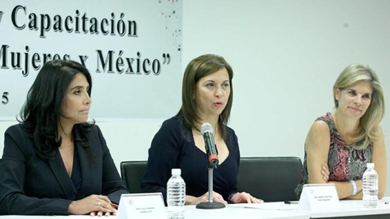 Alejandra Barrales - Cristina Diaz - Marcela Torres