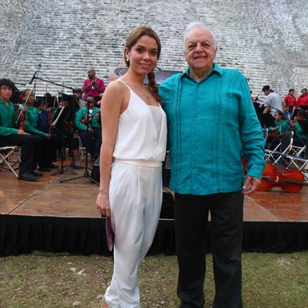 Zureya Esma y Alejandro Ordorica