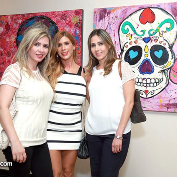 Vivian Elizondo de Moreno,Raquel Cano de López,y Carolina Handal de Dieck