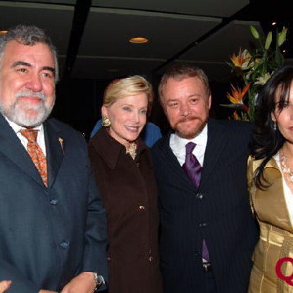 Alejandro Encinas, Raquel Bessudo, Tito Briz, Galia Quezada