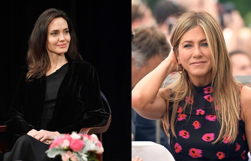 Jolie y ANISTON - Destacada