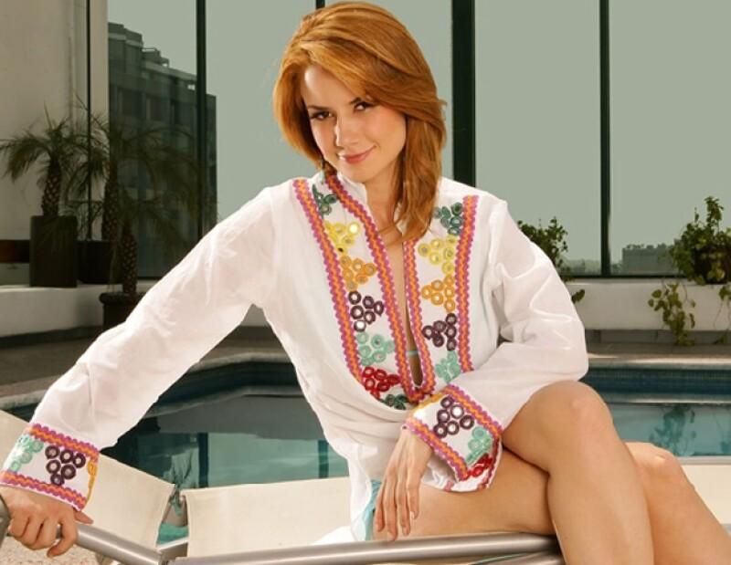 La actria se dedicará al 100 por ciento a la telenovela y al finalizar analizará opciones de cine y teatro.