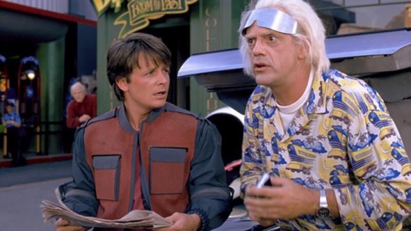 Así lucían los actores en 1985, cuando se lanzó la película.