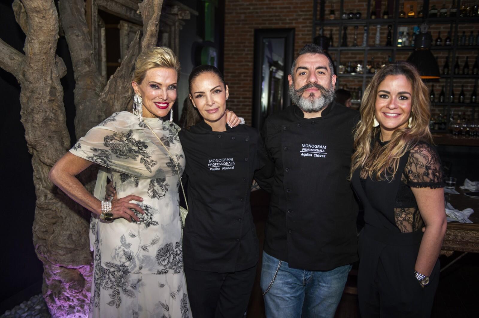 Raquel Bessudo, Paulina Abascal, Aquiles Chávez, Gabriela Pintos.jpg
