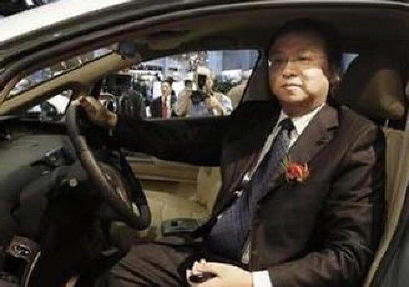 Wang Chuanfu, de 43 años, fundó BYD en 1995.  (Foto: Reuters)