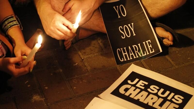 Charlie Hebdo luto homenaje