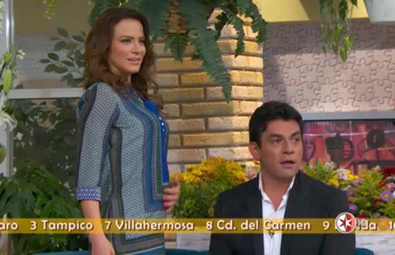 Aunque Jorge Salinas piensa que será un niño, sus otros compañeros piensan que Silvia tendrá una niña.