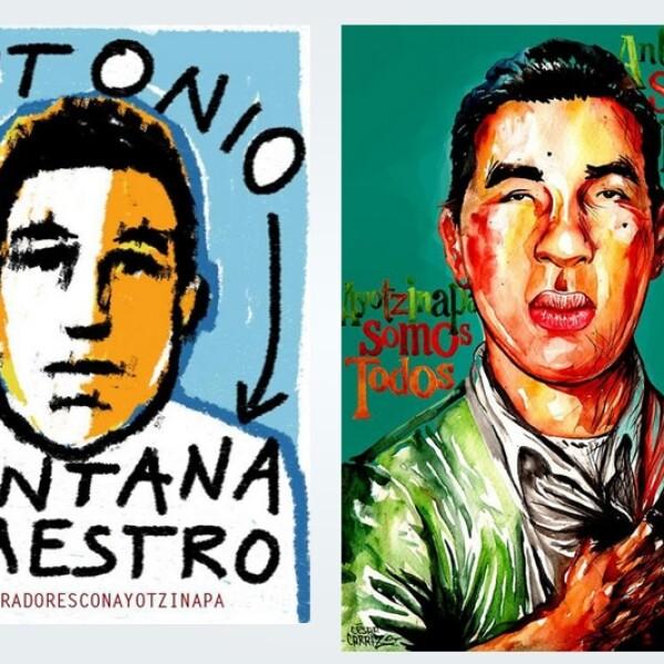 Antonio Santana Ayotzinapa