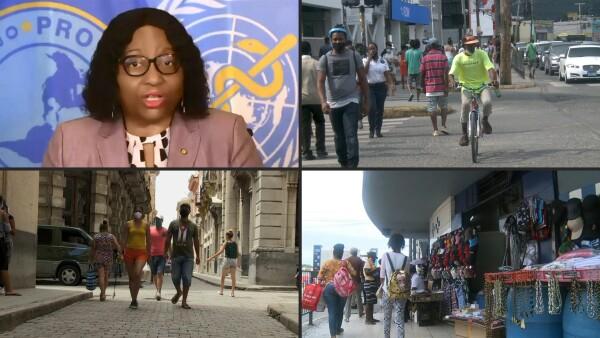 La reanudación de viajes no esenciales provoca rebrotes de COVID-19 en el Caribe
