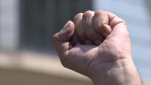 Cientos exigen transparencia en el uso de recursos para los damnificados del 19S