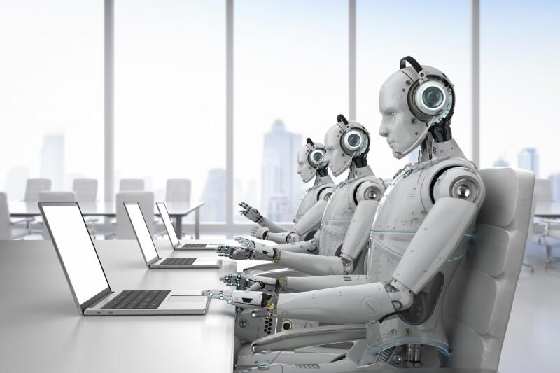 robot call center