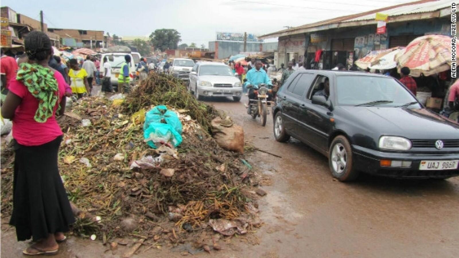 Uganda proyecto reciclaje