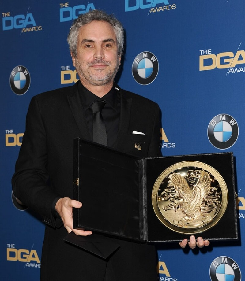 Con este galardón, Cuarón se coloca como puntero y amplio favorito para ganar el Oscar el próximo 2 de marzo en la entrega que se realizará por parte de la academia.
