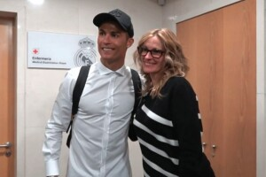 Julia Roberts y Cristiano Ronaldo