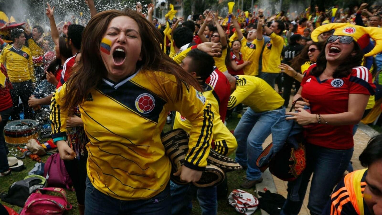 colombia, festejo