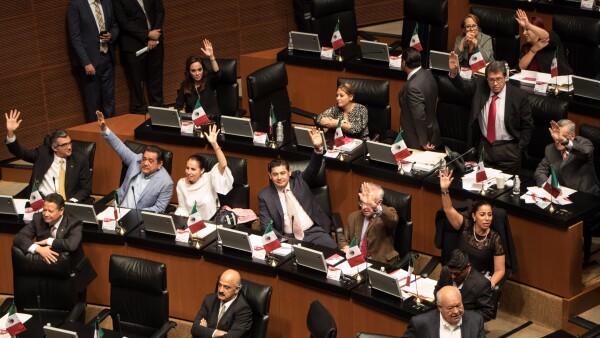 Morena en el Senado