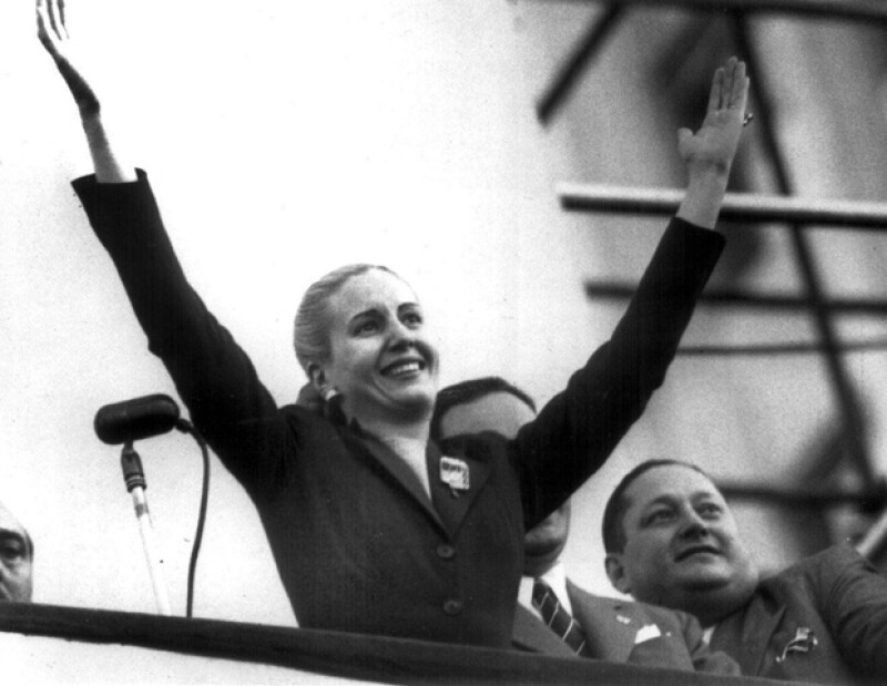 Eva Perón es un ícono de la política argentina.