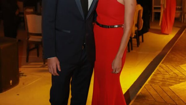 Chuy Bracamontes y Karina Gudiño