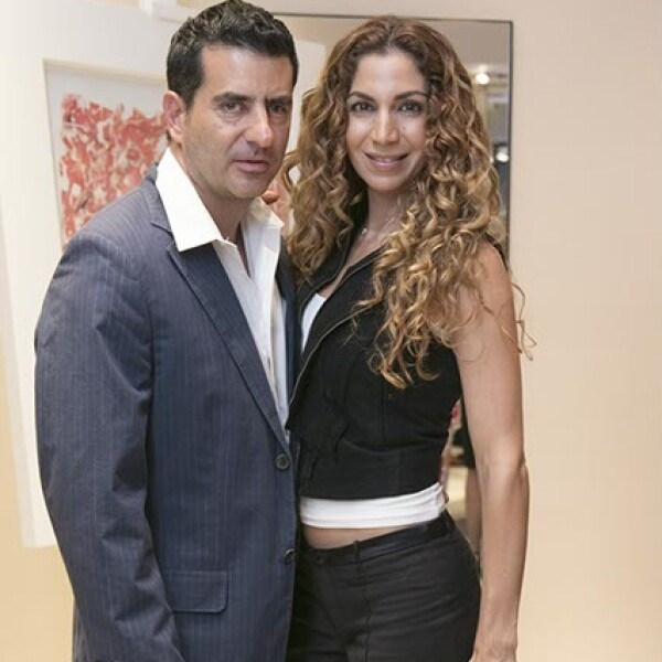 Esteban Said e Ivonne Marcos