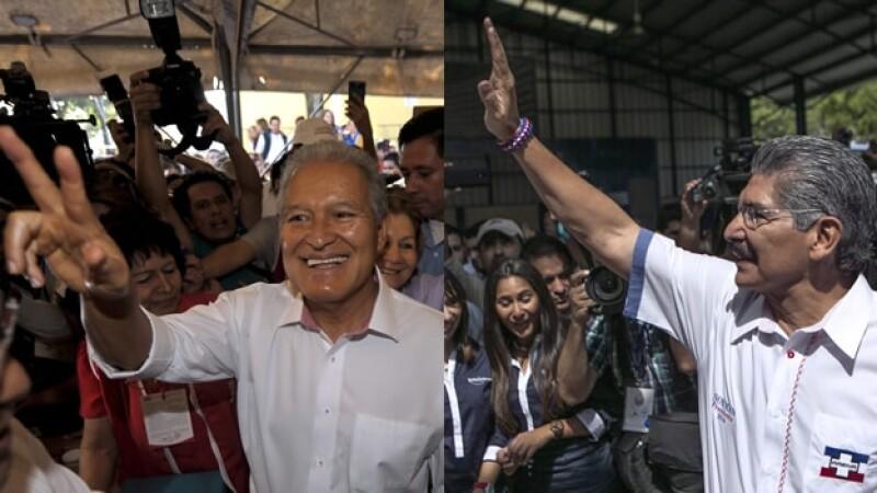 candidatos elección presidencial El Salvador