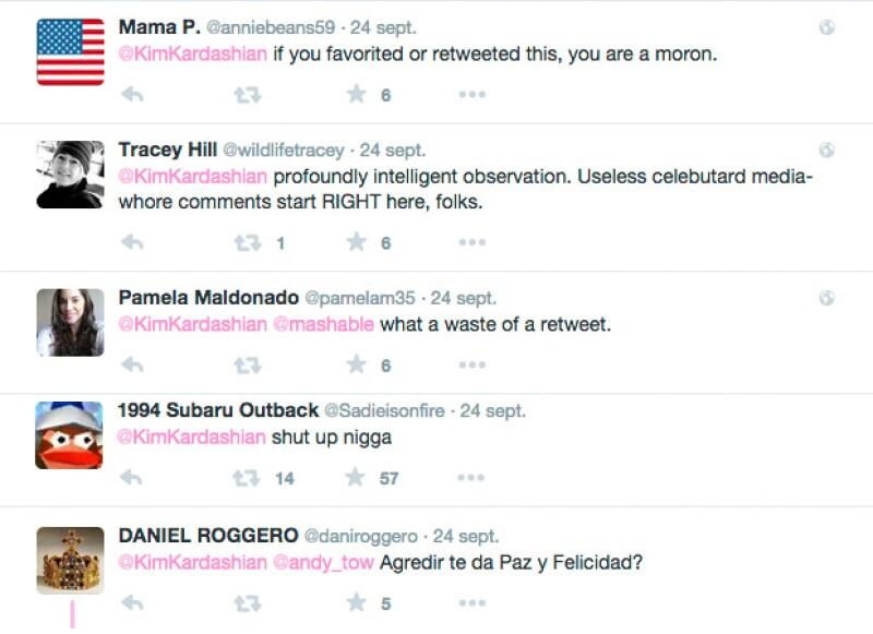 Estas fueron algunas de las respuestas a su tuit.