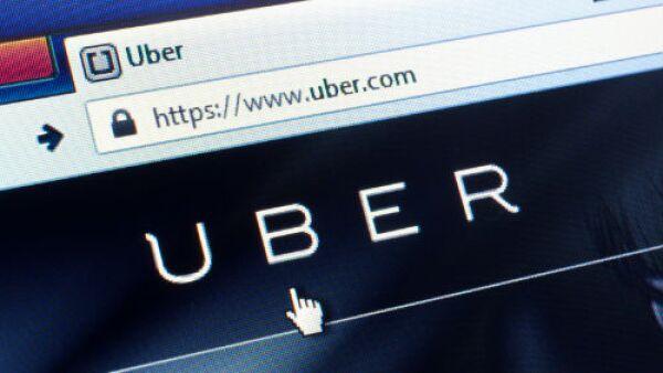 Uber sitio de Internet