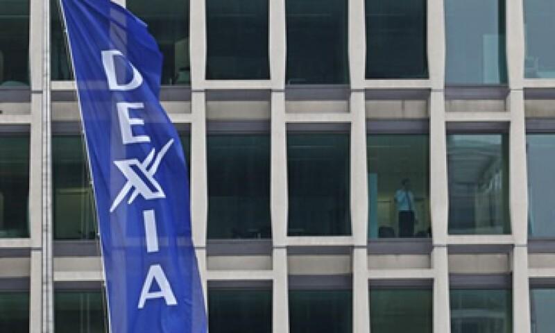 Dexia se convirtió en la primera entidad financiera en ser rescatada por la crisis de deuda europea. (Foto: Reuters)