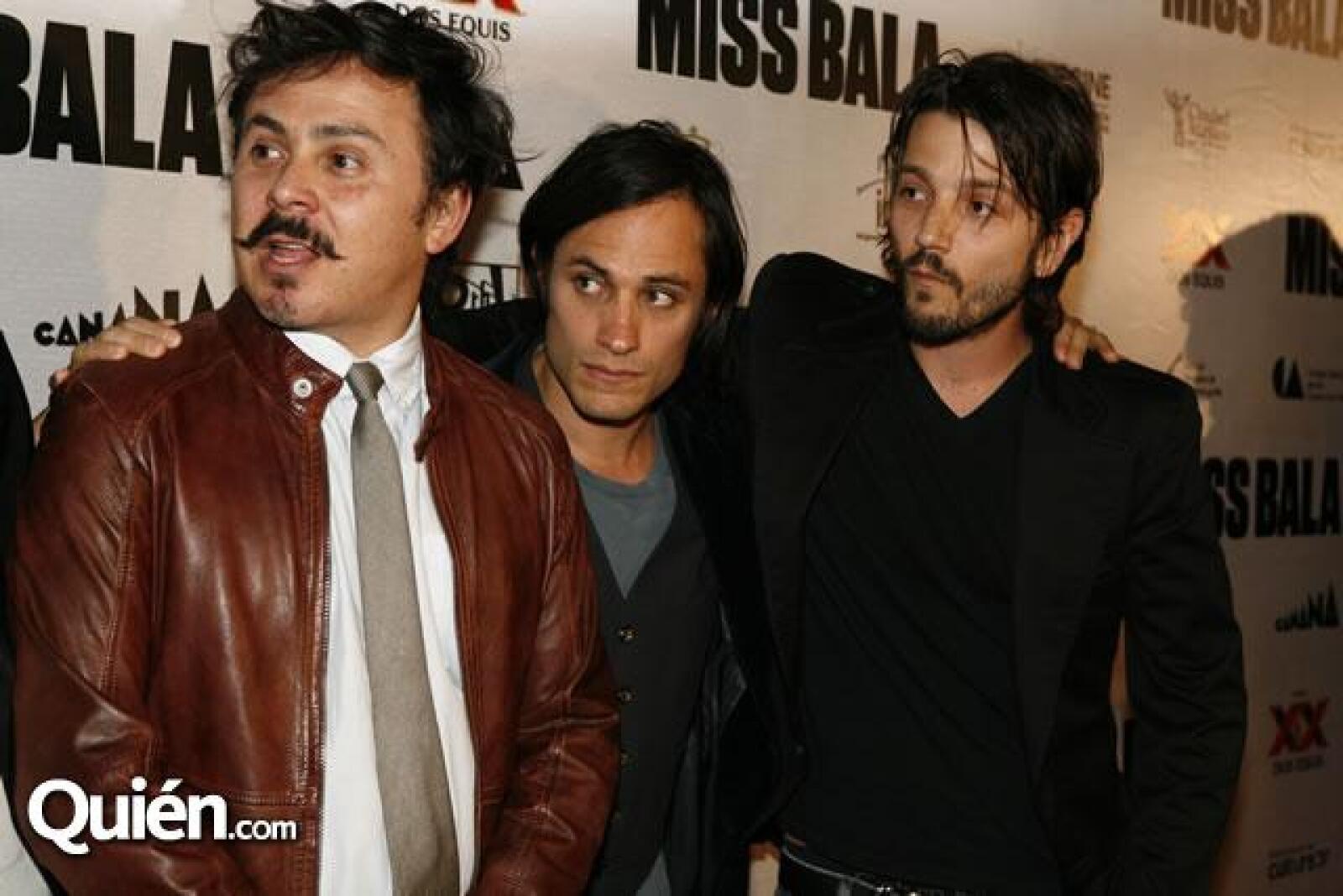 Gerardo Naranjo,Gael García Bernal,Diego Luna