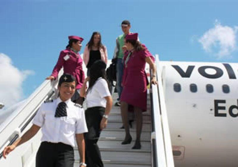 Volaris incorporó 7 nuevas aeronaves a su flota. (Foto: Cortesía Volaris)