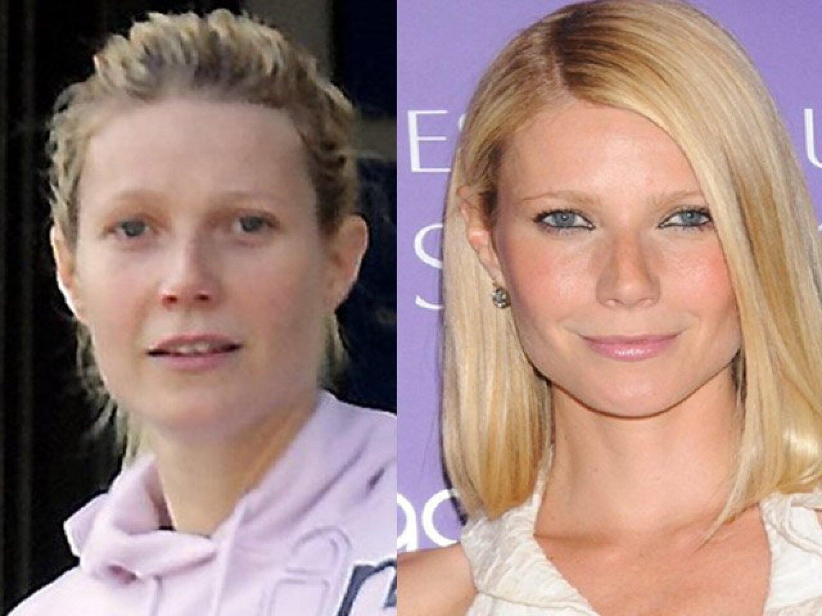 Estamos acostumbrados a ver a Gwyneth Paltrow tan bien arreglada que cuando sale en ropa deportiva y sin maquillaje puede pasar desapercibida por muchos.