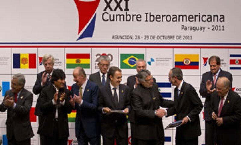Los líderes reunidos en la XXI Cumbre Iberoamericana subrayaron el valor de la extradición como herramienta esencial en la lucha contra el terrorismo. (Foto: AP)