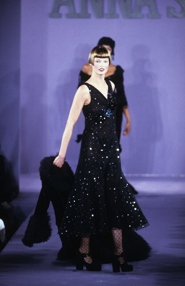 Anna Sui RTW Fall 1993 Collection, New York